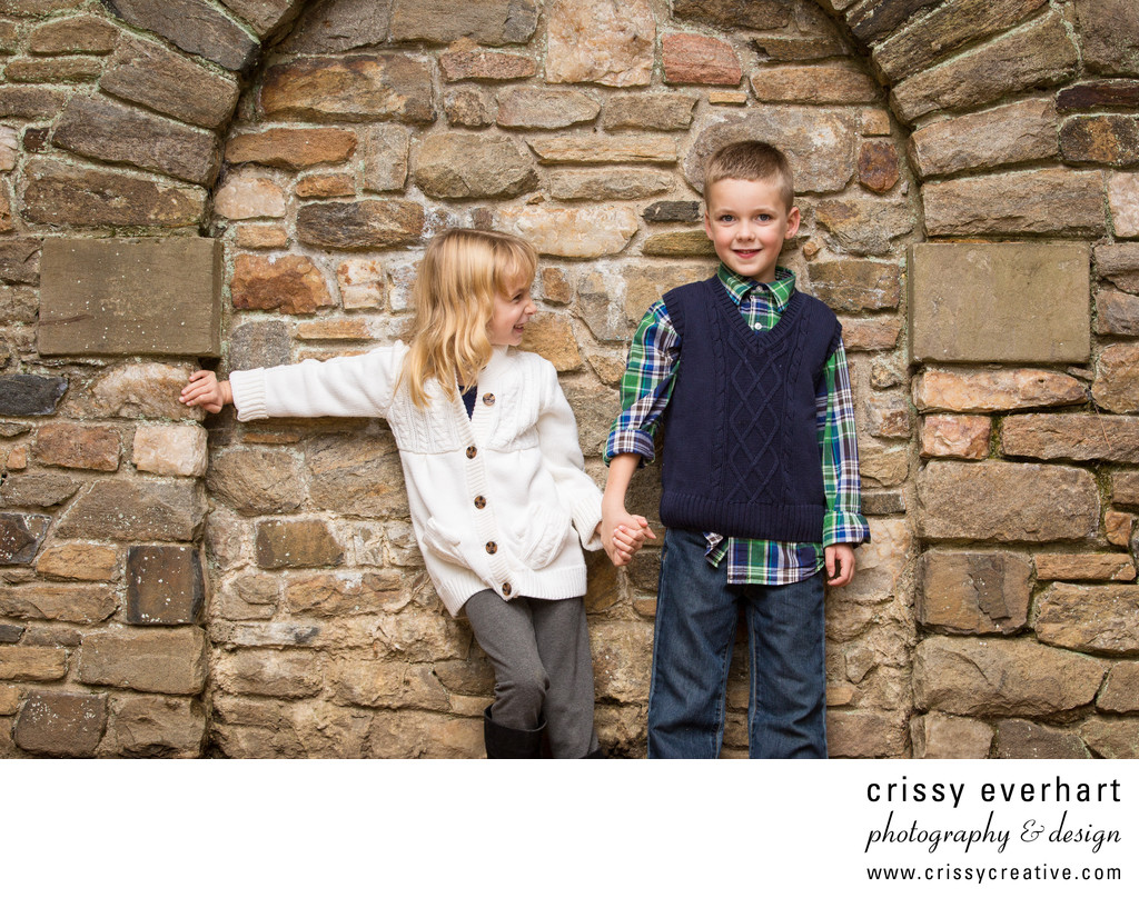 Playful Children's Portraits at Ridley Creek State Park