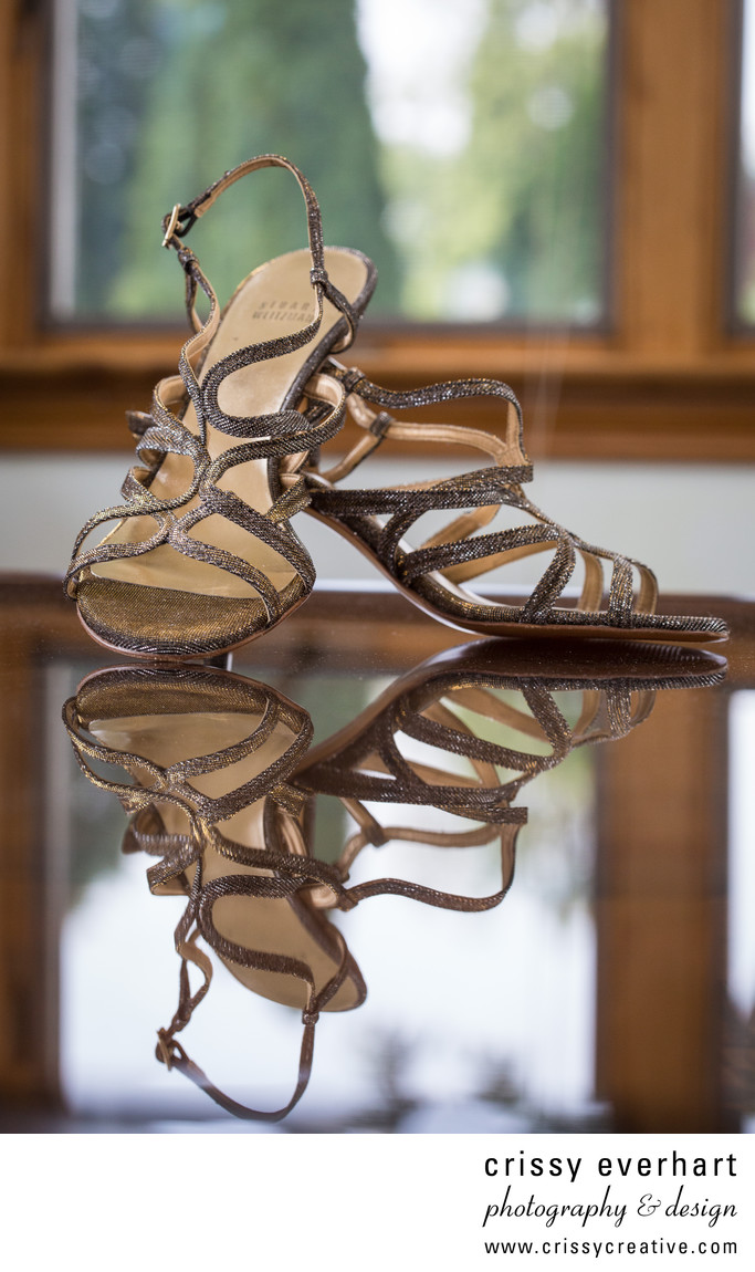 Stuart Weitzman Shoes in West Chester Wedding