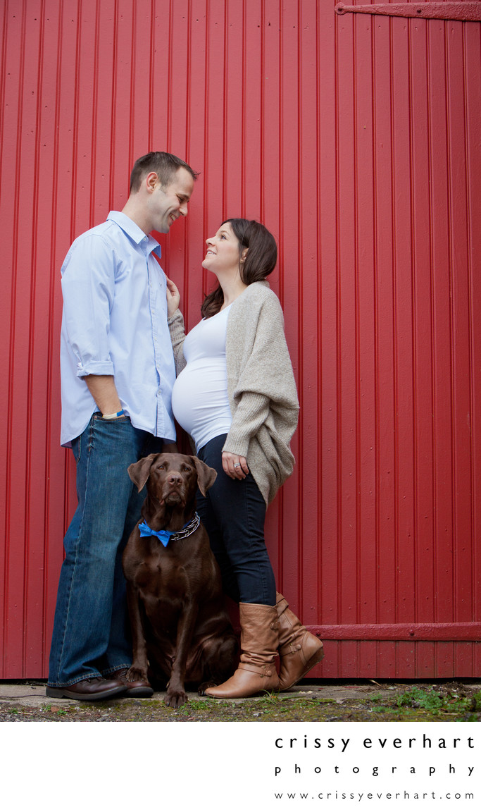 Maternity and Pet Portraits - Ambler Photographer