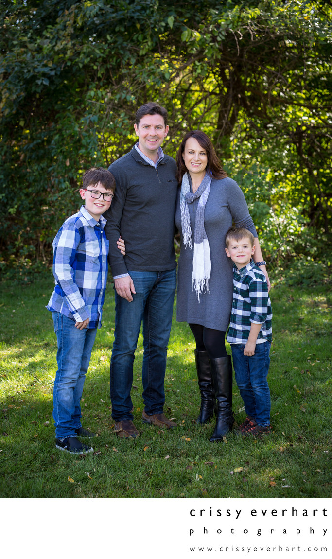 Paoli Family Portrait Photographer