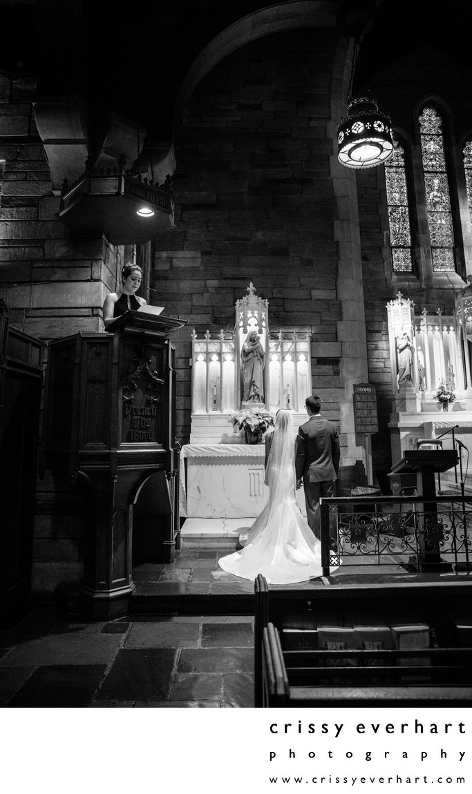 Catholic Wedding Ceremony - St Agnes West Chester