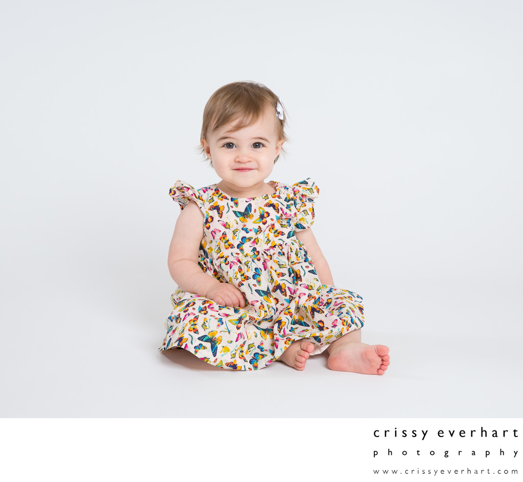 One Year Old - Studio Portraits
