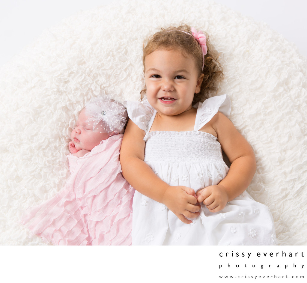 Proud Big Sister - Paoli Newborn Portrait Photographer