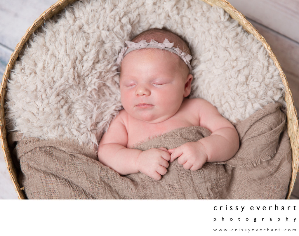 Newborn Photography Studio with Props