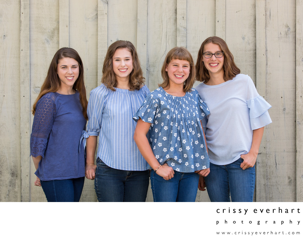 Sibling Portraits in Malvern, Chester County