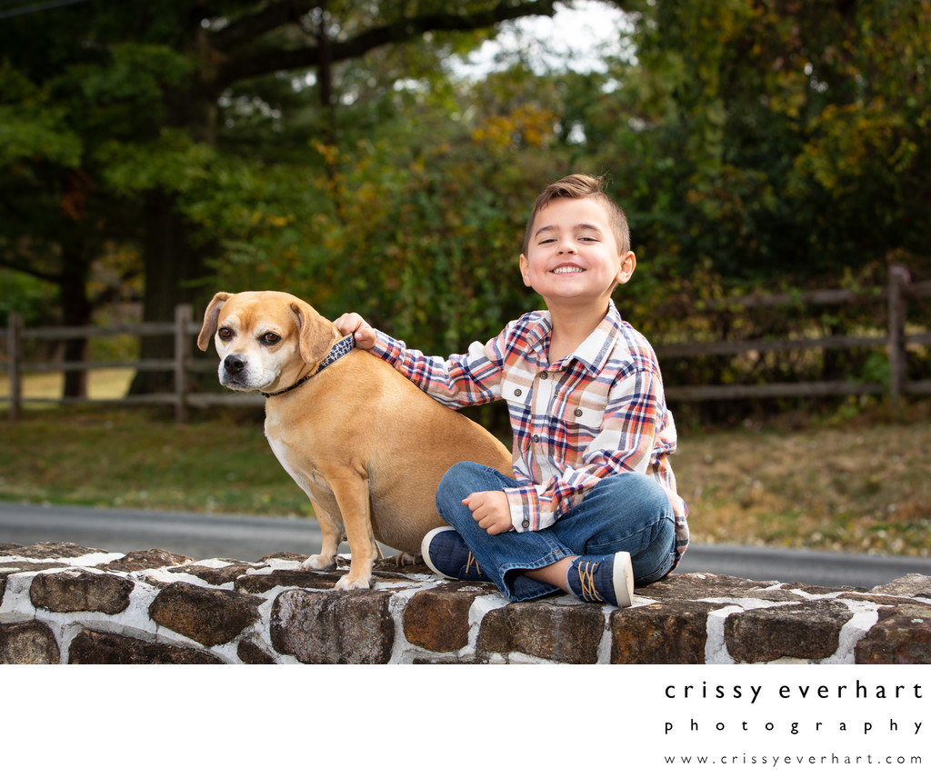 Photos with Kids and Pets in Chester County