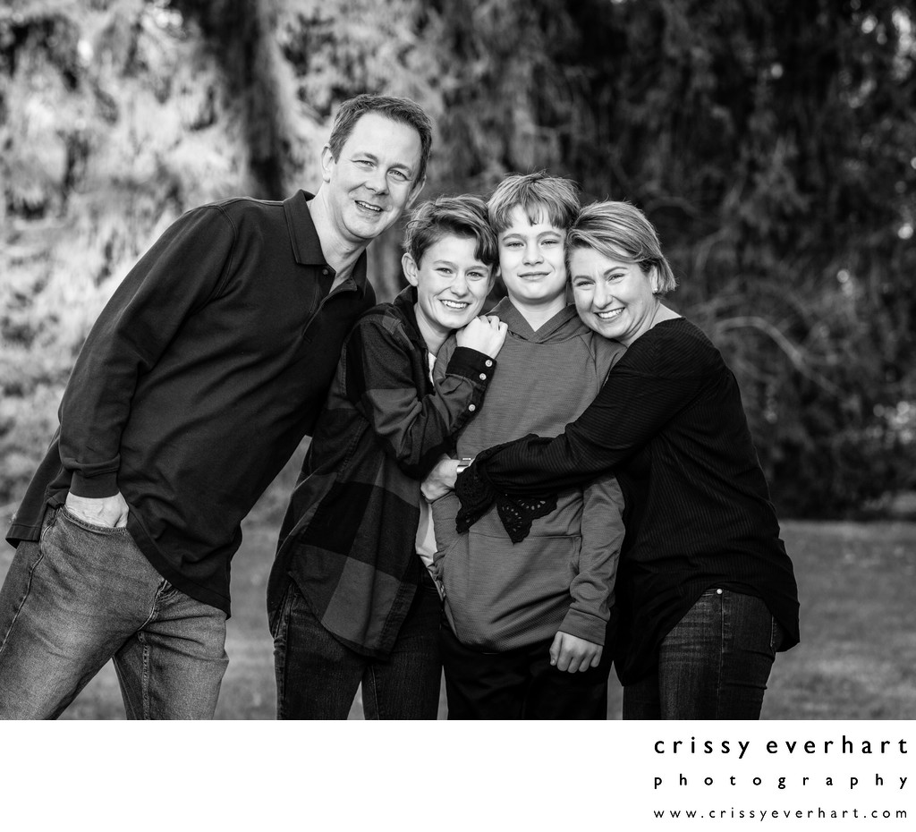 Family Portraits that Show Your Love - Malvern Studio