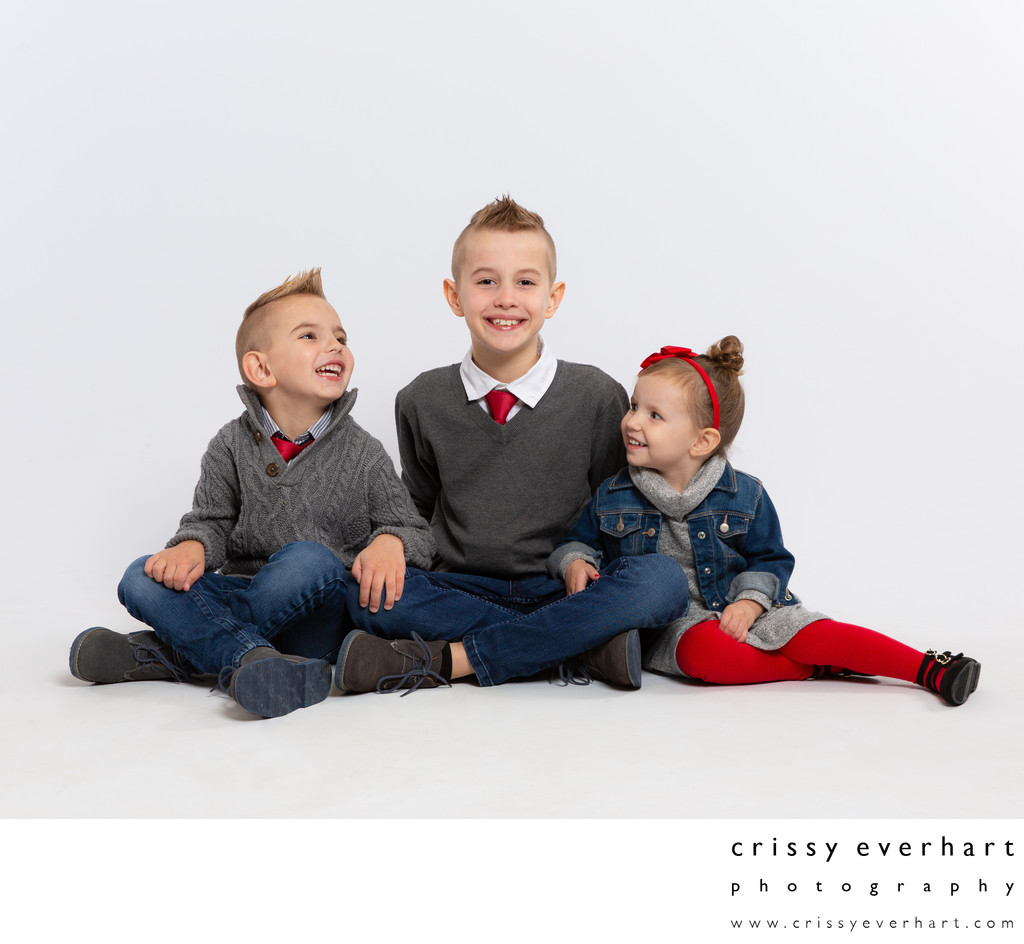 Children's Portraits in Malvern, Chester County