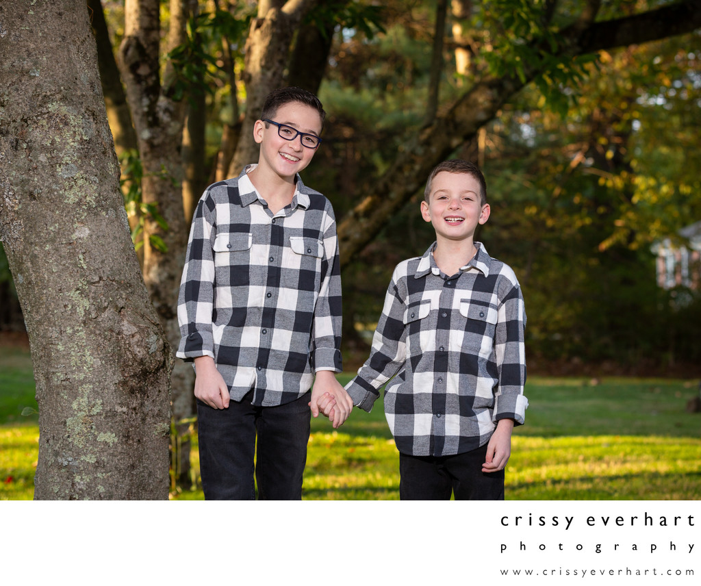 Fall Family Photos - Willistown Photographer