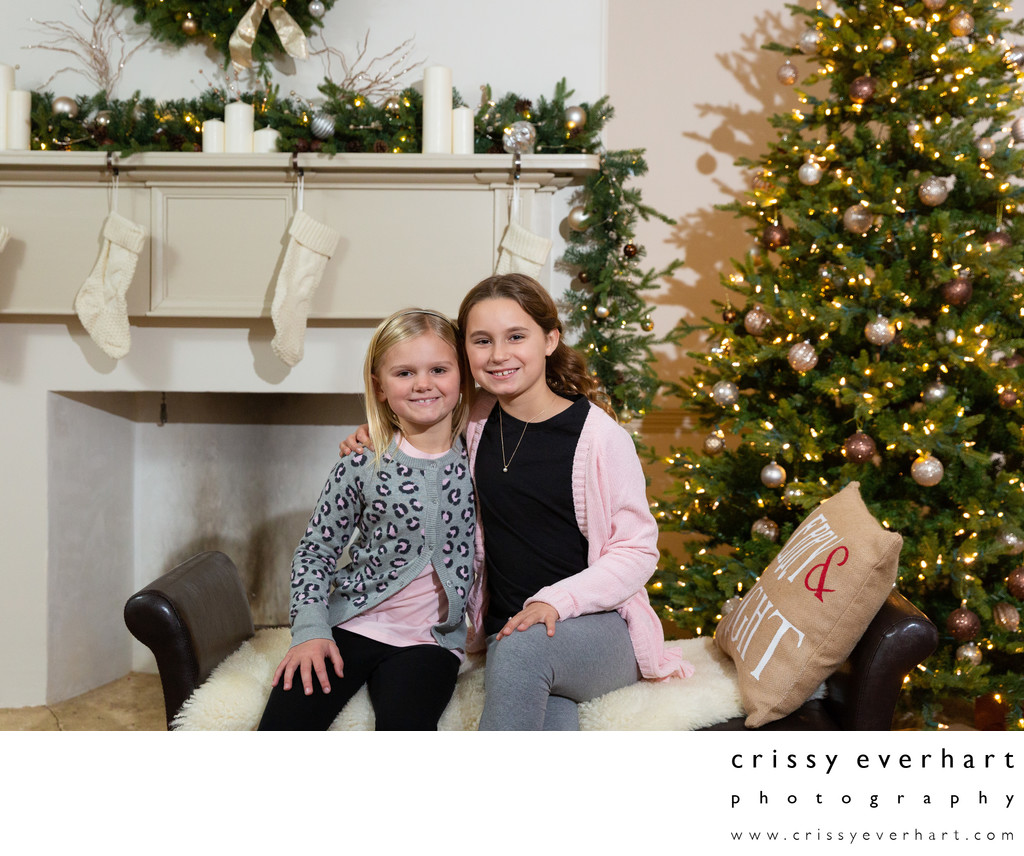 Christmas and Holiday Studio Portraits