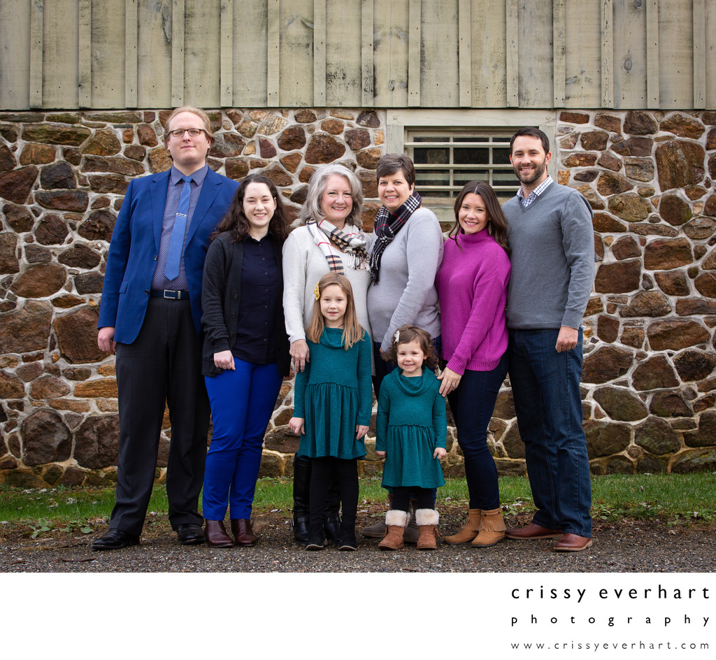 Extended Family Photos in Chester County