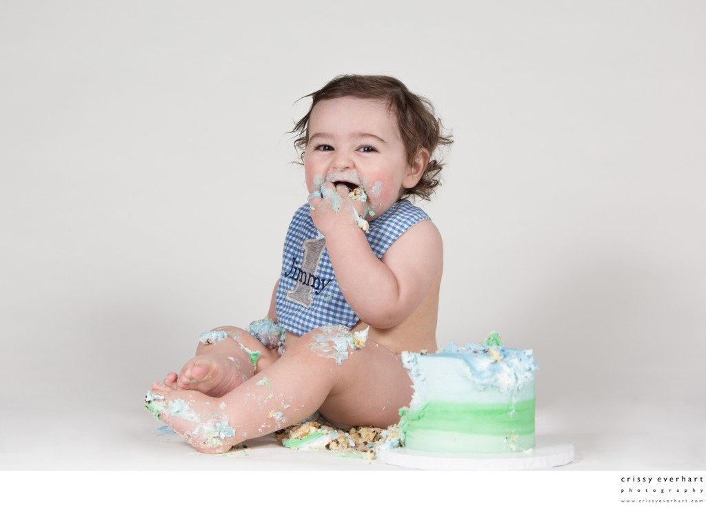 Cake Smash Photographer in Chester County