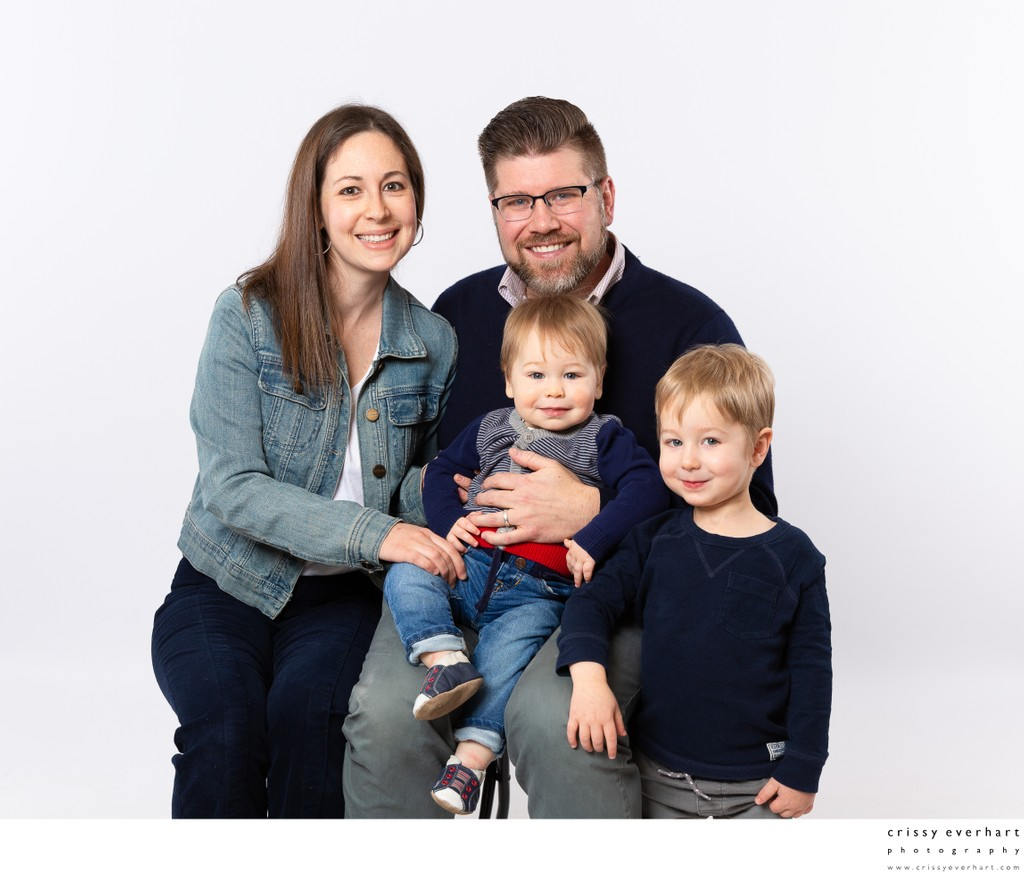 Paoli Family Portrait Photographer with Studio