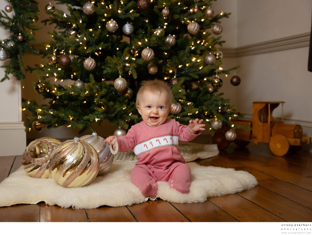 Studio Christmas Photos in Malvern