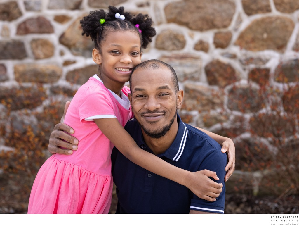 Dad and Daughter Portraits