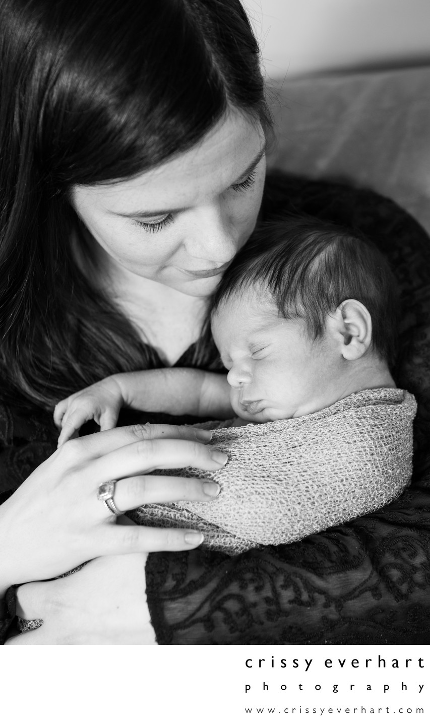 Mother and Baby Portraits - Malvern Photographer