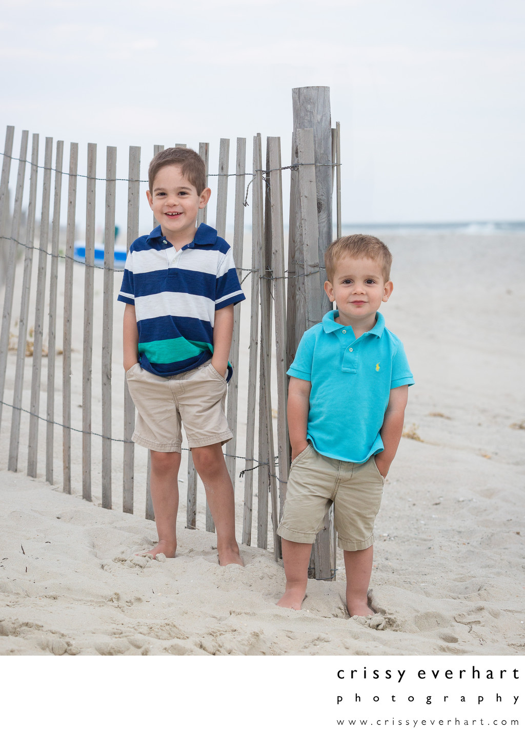 Beach Portraits at Long Beach Island, New Jersey