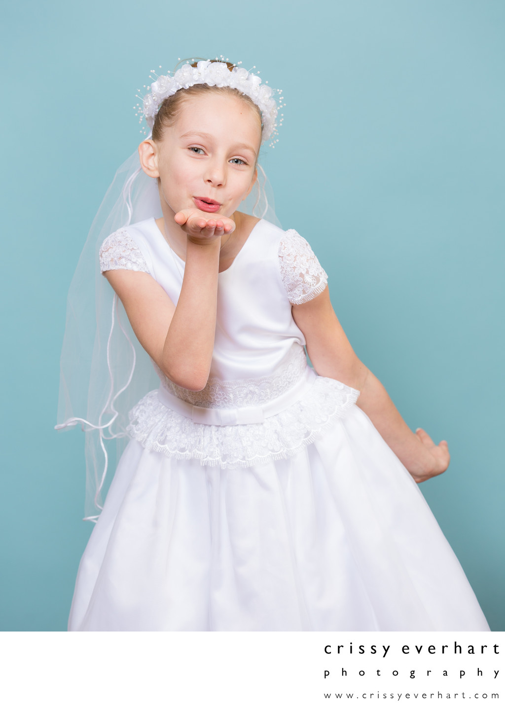 First Holy Communion Portraits with Personality