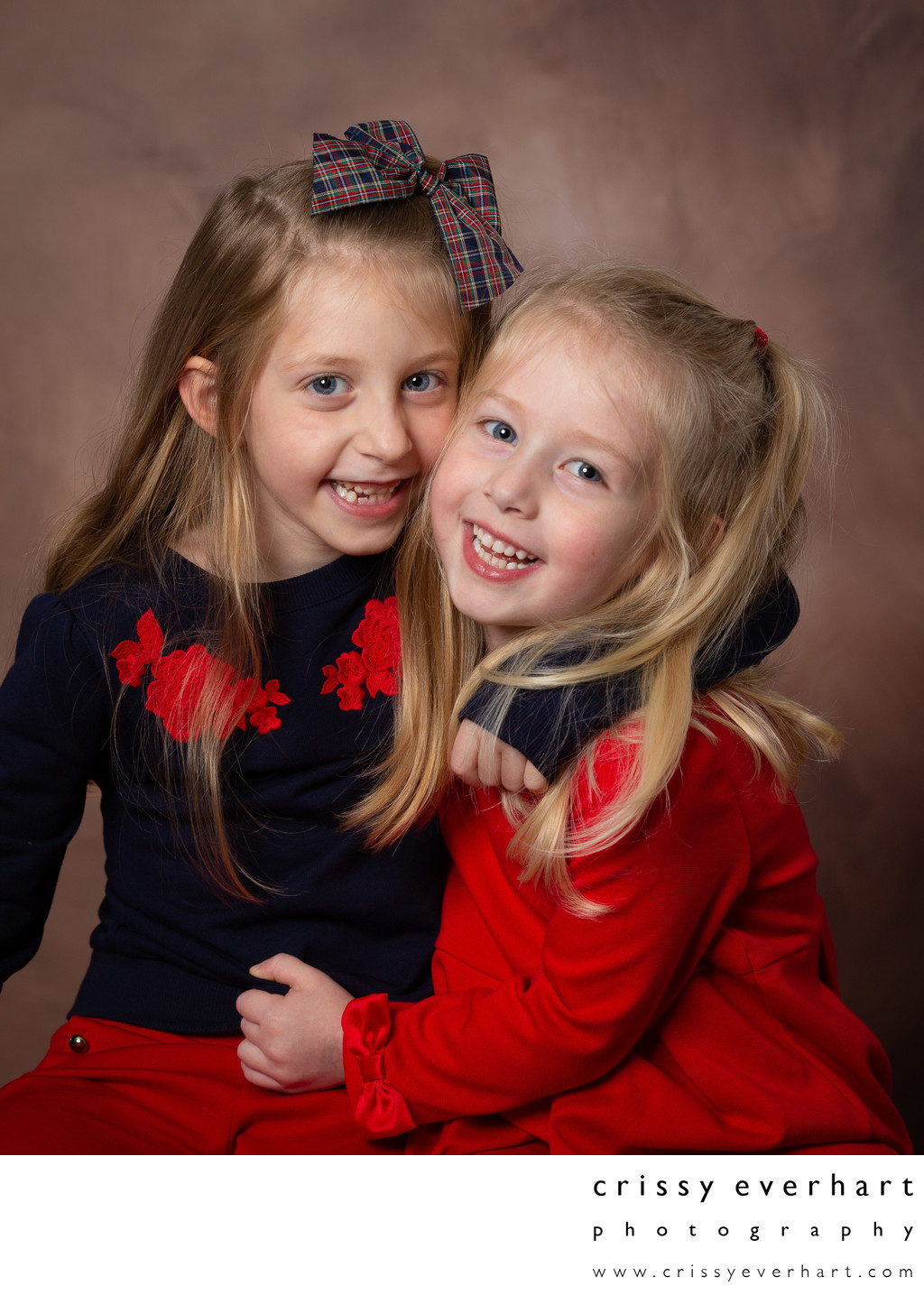 Studio Portrait of Sisters