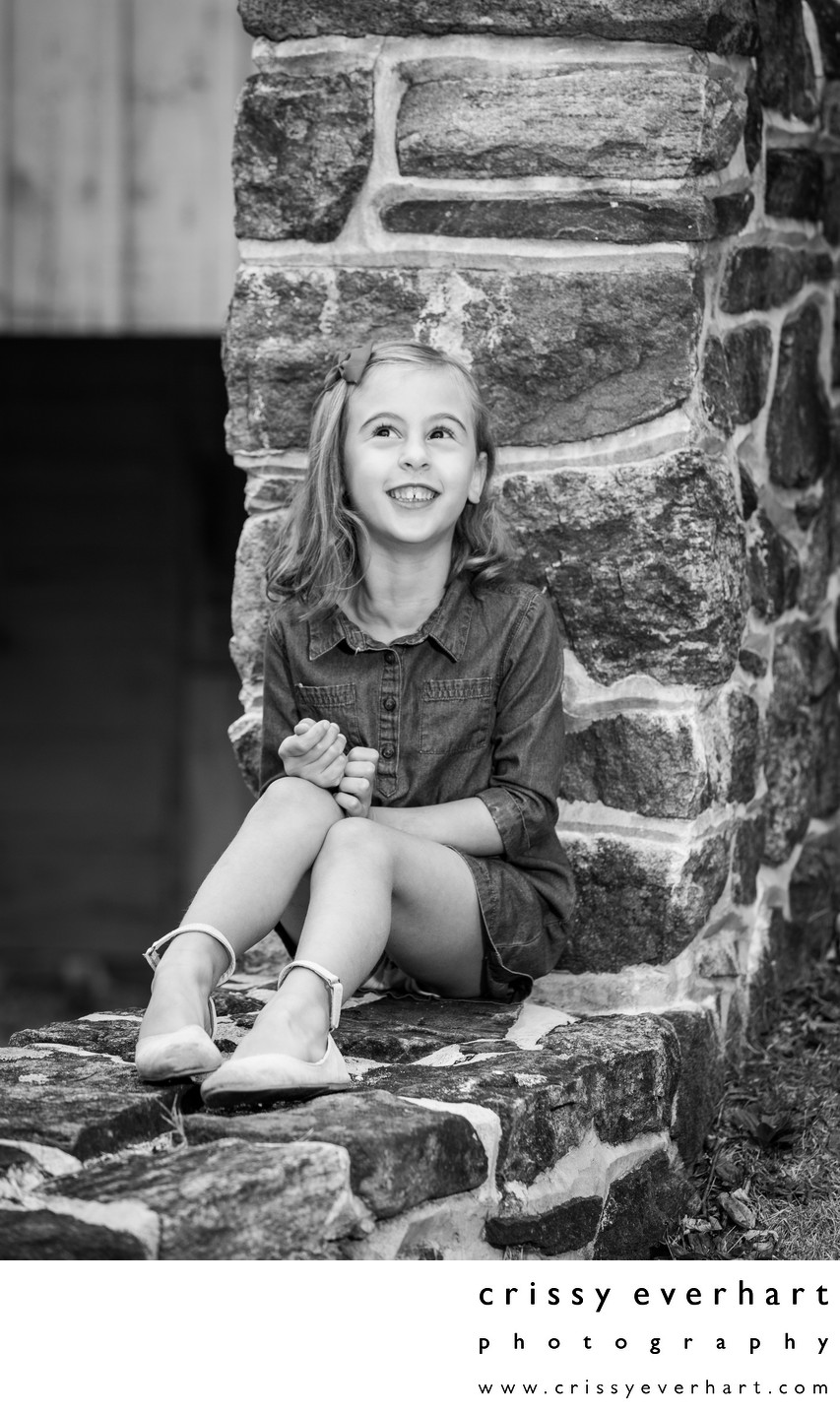 Light Hearted Children's Portraits - Historic Studio