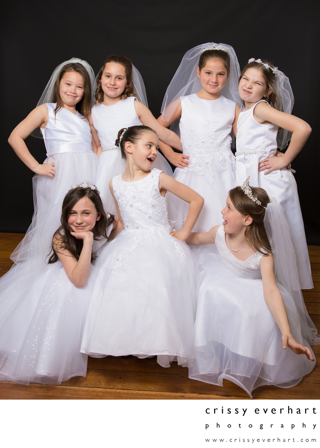 First Holy Communion Photos - Girls