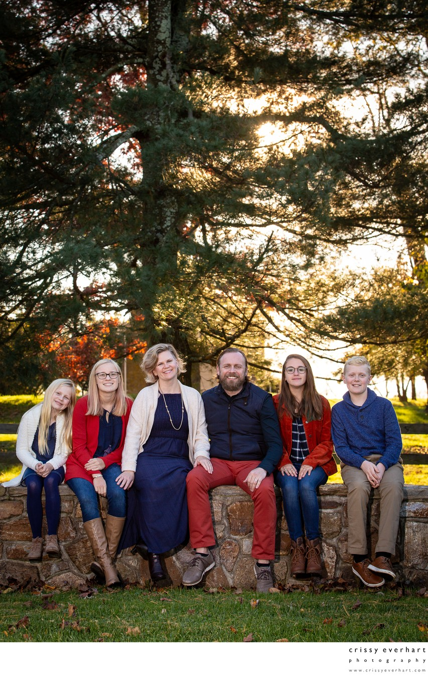 Fall Family Photos in Chester County
