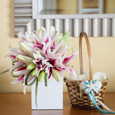 Destination Wedding Bouquets in Aruba