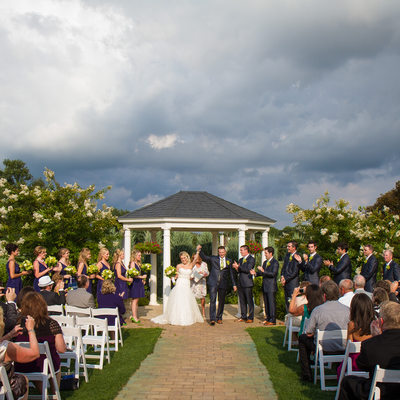 Married at Penn Oaks Golf Club in West Chester, PA