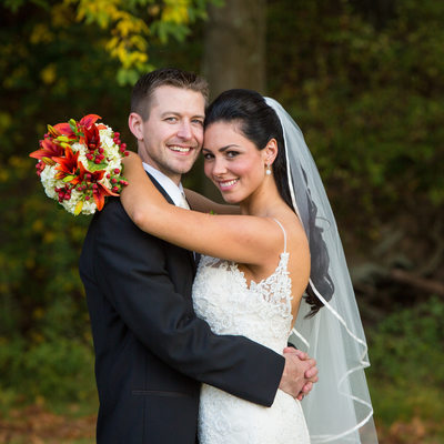Fall Wedding at The Barn on Bridge in Collegeville, PA