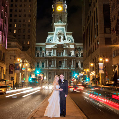 Broad Street Philadelphia City Wedding Photography