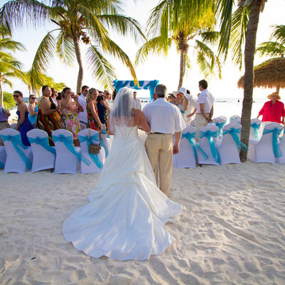 Destination Wedding Ceremony- Renaissance Island, Aruba