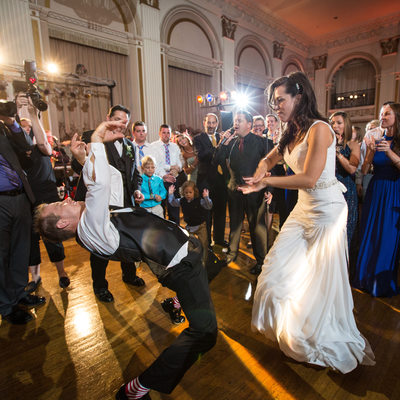 Crazy Dance Moves at the Ballroom at the Ben