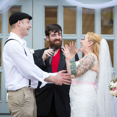 Tattooed Wedding Couple Pronounced Married in Queens