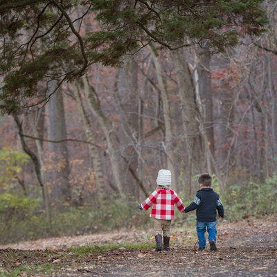 Twin Toddlers - Children's Portraits in Delaware County