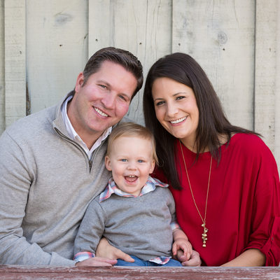 Chester County Family Portraits - Rustic Background