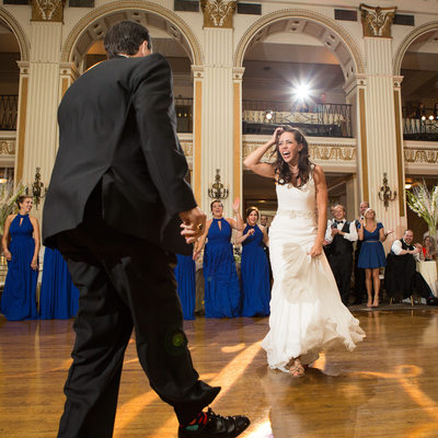 West Chester Bride and her Father Dance at her Wedding