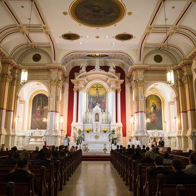 St Charles Borromeo Catholic Church Wedding Ceremony
