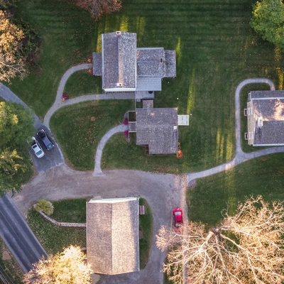 Overhead photo - Historic Sugartown Property, Malvern