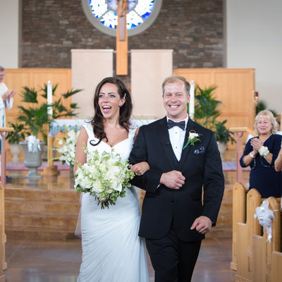 Sts Simon & Jude Wedding Ceremony Recessional
