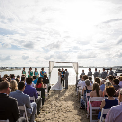 Hyatt Place Dewey Beach Wedding Ceremony in Delaware