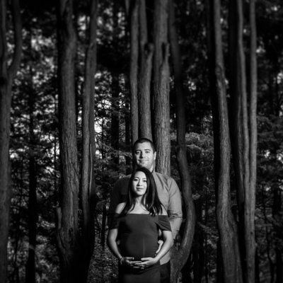 Dramatic, Artistic Maternity Photos in Delaware County