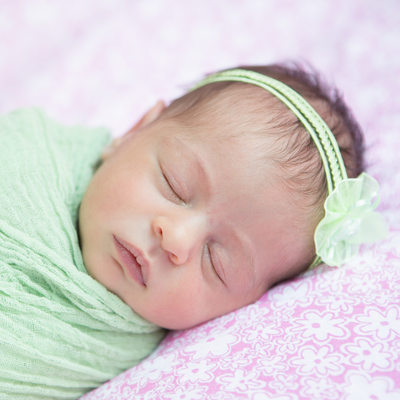 Professional Newborn Portraits - Berwyn Photographer