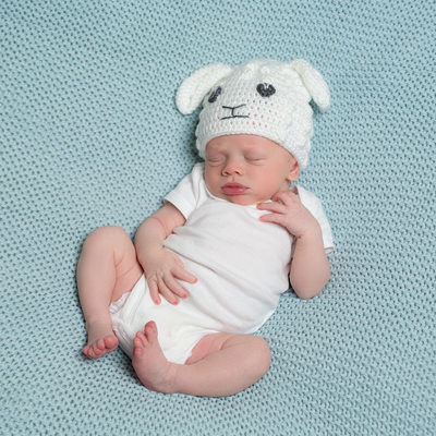 Sleeping Baby Newborn Photographer