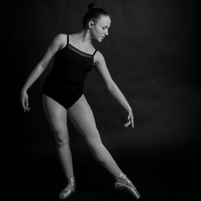 Artistic Dance Portraits in Chester County - Ballerina