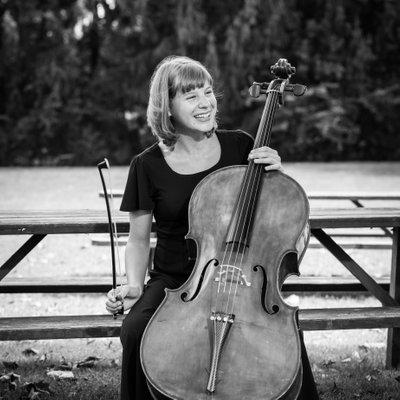 Musical Teen with Cello, Musician Portraits