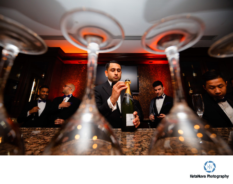 Epic Groomsmen Photos - NJ Indian Wedding Photographer