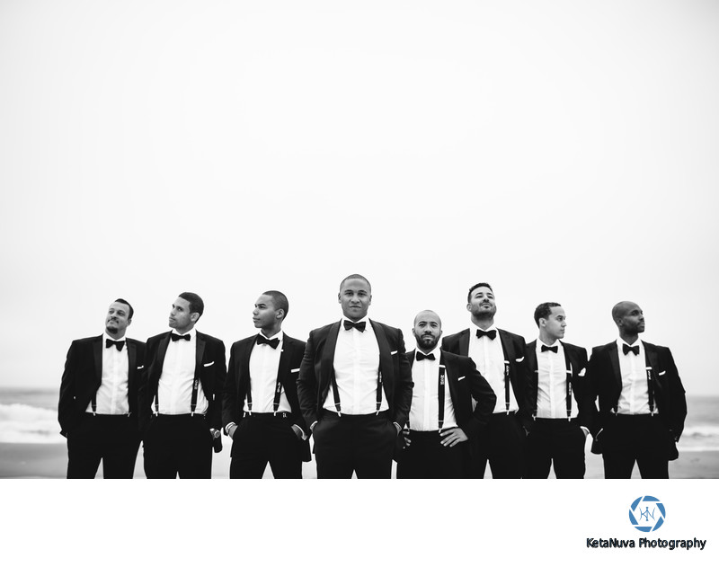 Creative Groomsmen Wedding Photos - Long Island Wedding