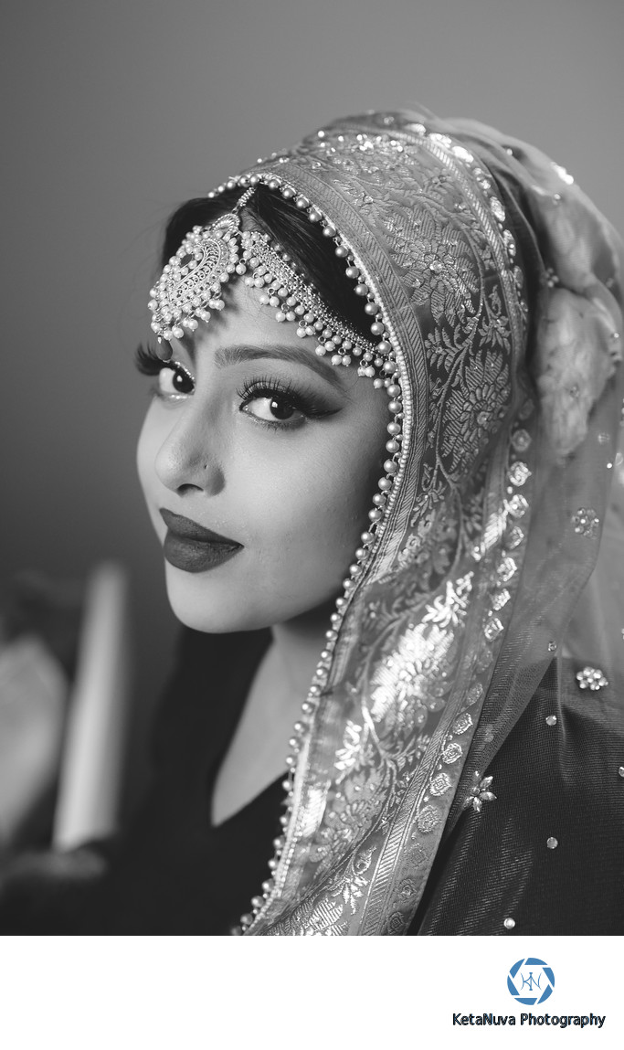 Bridal Portrait NY Indian Wedding Photography