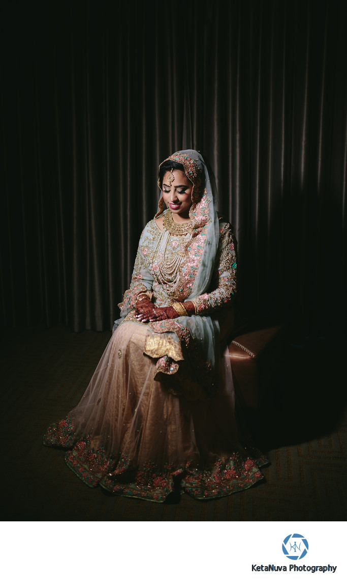 Bridal Portrait Pakistani Wedding Photography