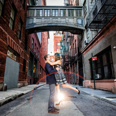 TriBeCa Engagement Photo NY